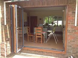Brown Patio Doors Bifold And Patio Doors Leydene Glass Glazing