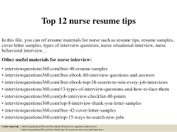 Best Nursing Resume Samples by Top 12 Nurse Resume Tips 1 638 Jpg Cb U003d1427960073