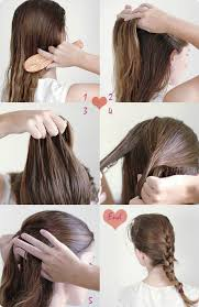 step by step hairstyles for long hair with bangs and curls 9 easy and cute french braided hairstyles for daily creation