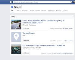 facebook u0027s new save button is actually useful wired