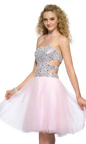 cut out sweetheart glitter short pink prom dresses uk ksp394 uk