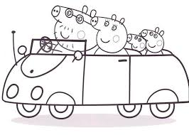 free coloring pages of peppa pigs dinosaur 7640 bestofcoloring com