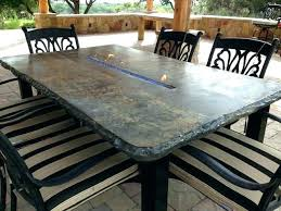 Cement Patio Table Concrete Patio Furniture Raham Co