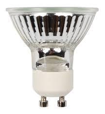 diall gu10 40w halogen dimmable reflector spot light bulb pack of