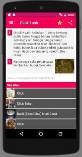 cara mebuat sinti resep cilok android apps on google play
