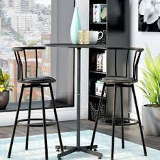 West Elm 2x2 Console Desk Pub Tables U0026 Bistro Sets You U0027ll Love Wayfair
