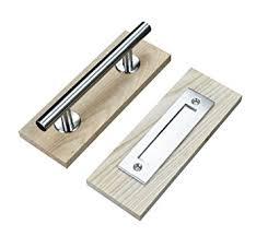 Closet Door Handle Diyhd Stainless Steel Sliding Barn Door Handle Wood