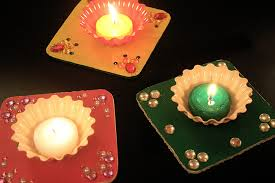 diy tea light holders for diwali the craftables