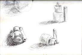 still life sketches of made objects oca u2013 open college of the arts