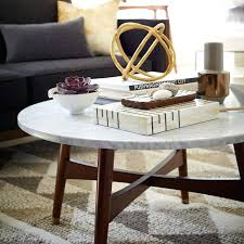 west elm white table white mid century coffee table pop up storage walnut west elm within