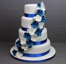 wedding cake royal blue wedding cake royal blue pics royal blue n white wedding cake with