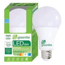 greenlite led shop light tool greenlite 15w led omnid led a type bulb dimmable