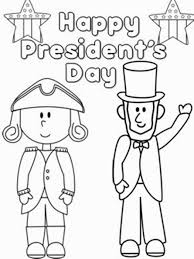 presidents day coloring pages coloring pages pinterest pre