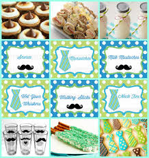 baby shower mustache theme mustache bash ideas party on purpose