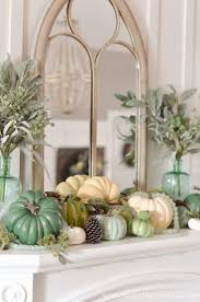 Entryway Table Decor by Best 25 Fall Mantle Decor Ideas On Pinterest Fall Fireplace