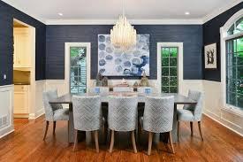 Navy Blue Dining Room Decor Ideas Domino - Navy blue dining room