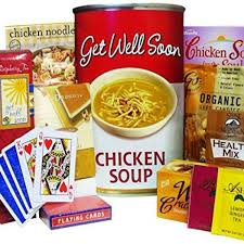 soup gift baskets of appreciation gift baskets get well soon chicken soup tote gift bag