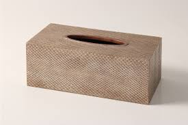 gift box tissue paper boa snakeskin tissue box antique silver forwood design