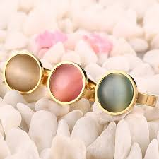 aliexpress buy vnox 2016 new wedding rings for women aliexpress buy vnox 3pcs simulated opal cocktail rings for