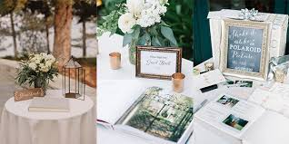 wedding guest sign in 15 trending wedding guest book sign in table decoration ideas