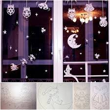 how to diy paper window decorations from free template