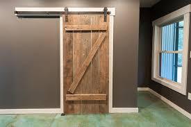 Closet Barn Doors Broom Closet With Barn Door Eclectic Closet Atlanta By
