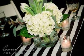 black and white centerpieces black and white wedding reception with centerpieces of 50th
