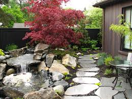 Backyard Waterfall Pond And Waterfall Pictures Gallery Landscaping Network