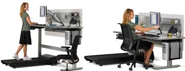 Sit Stand Desks Sit To Walkstation Treadmill Desk Sit Stand Or Walk The