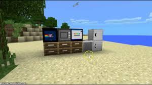 Minecraft Furniture Ideas Pe Minecraft Pe 0 10 4 Furniture Mod V4 0 Youtube