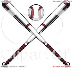 bats images clip art clipart crossed bats and a baseball over a home plate royalty