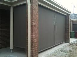 outdoor patio roller blinds melbourne 3a blinds