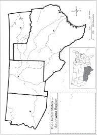 Us Region Map Blank Us Regions Map Wall Hd 2018