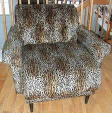 Leopard Armchair Vintage Furniture Montreal Digs Page 12
