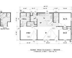 Skyline Mobile Home Floor Plans 1996 Skyline Mobile Home Floor Plan