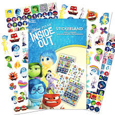amazon com pixar inside out stickers 295 reward stickers toys
