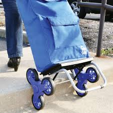 stair climbing trolley dolly bag rolling foldable cart ebay