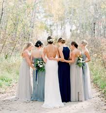12 of the most swoon inducing mismatched bridesmaid dress looks on