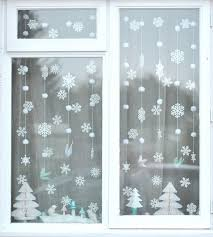 Christmas Window Decorations Templates by 279 Best Christmas Windows Walls U0026 Stairs Decor Images On
