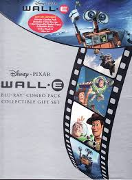 amazon com wall e disney pixar blu ray combo pack collectible amazon com wall e disney pixar blu ray combo pack collectible gift set includes 2 disc blu ray 1 disc disneyfile digital copy collectible book sticker