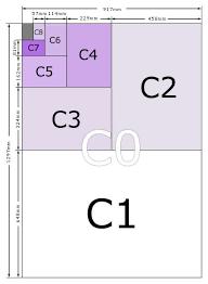 Envelopes Size Envelope Size Guide For C0 C1 C2 C3 C4 C5 C6 C7 C8 C9