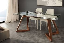 tavoli moderni legno tavoli di vetro trasparenze contemporanee icon design