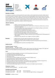 Sample Resume Logistics Coordinator by Logistics Coordinator Resume