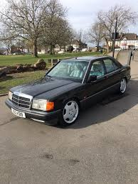 mercedes 190e 2 0l auto low mileage lowered in streatham common