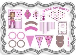 printable birthday decorations free chocolate cherry party free fun diy parties and themes