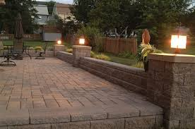 Patio Wall Lighting Brick Patio Wall Designs Simple Design Home Ideas Walls Calladoc Us