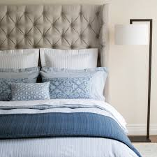 photo album ticking stripe bedding all can download all guide blue ticking stripe bed linen closeup