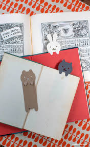 diy papercut animal bookmarks bookmarks diys and craft