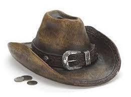 Western Room Decor Burton U0026 Burton Money Banks Large Cowboy Hat Piggy Bank Great