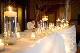 candle centrepieces wedding easy rustic wedding ideas that you